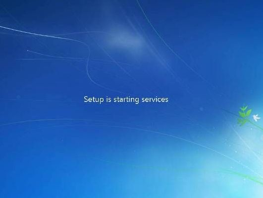 cara instal windows 7 setup starting